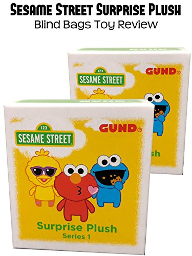 Review: Sesame Street Surprise Plush Blind Bags Toy