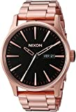 Nixon Unisex Sentry SS All Rose Gold/Black Watch