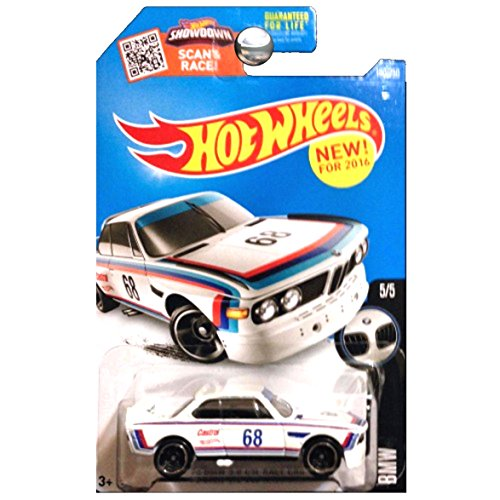 Bmw Csl Wheels - Hot Wheels 2016 BMW Series 1973 BMW 3.0 CSL Race Car White
