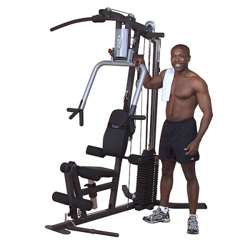Body Solid G3S G-Series Selectorized Home Gym with Chest-Supported Mid-Row and Fill Size Workout