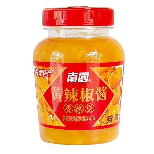 - NANGUO Spicy Yellow Pepper Chilli Sauce--4.76 Oz