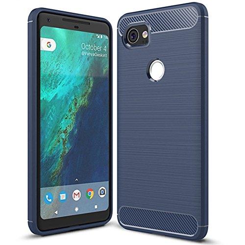 Google Pixel XL 2 Case,Pixel XL2 case - Suensan TPU Shock Absorption Technology Raised Bezels Protective Case Cover for Google Pixel 2 XL Case(6.0