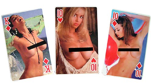 Sorry, that Playing cards of naked girls