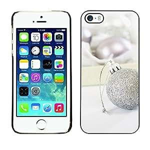 YOYO Slim PC / Aluminium Case Cover Armor Shell Portection //Christmas Holiday White Decoration 1099 //Apple Iphone 5 / 5S