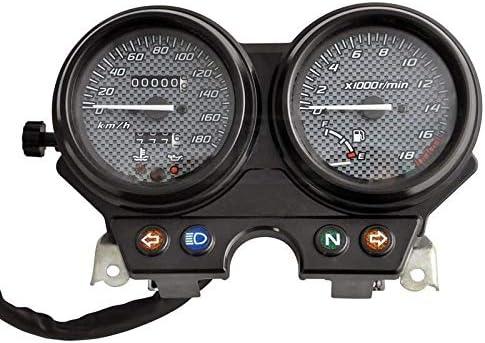 H-O-N-D-CB250 CB 250のためのオートバイLED電子タコメータスピードメーター走行距離アクセサリゲージキット YHWJP