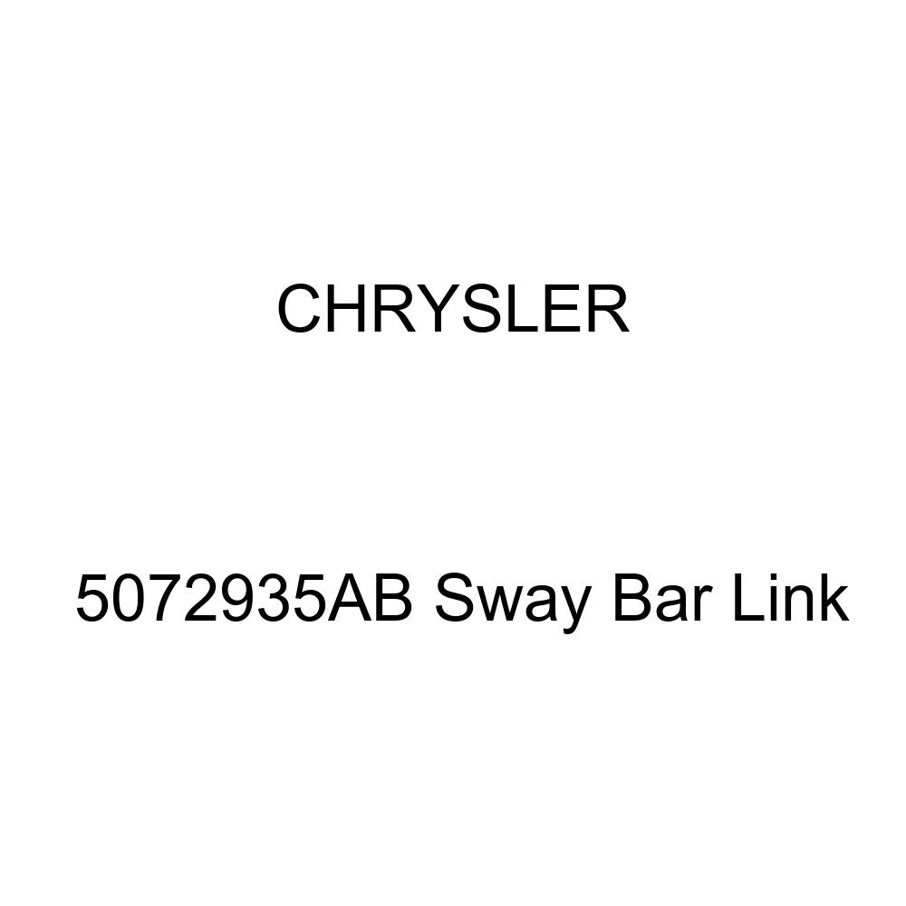 Genuine Chrysler 5072935AB Sway Bar Link