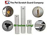 Pet Scratch Guard Vinyl Protector - Stops Cats & Dogs From Clawing & Scratching Doors, Furniture, Chairs, Couches, Love Seats, Recliners, Sofa's, Screens And More. 12' X 60'