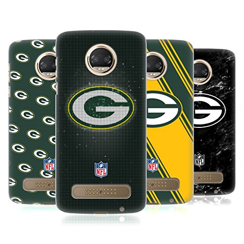 Official NFL 2017/18 Green Bay Packers Hard Back Case for Motorola Moto Z2 Play from Head Case Designs