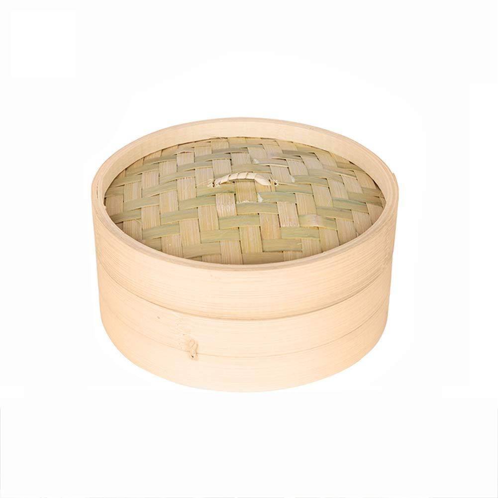 Bambusdämpfer Dampfkorb Bambus Dampfgarer Reis, Dim Sum, Gemüse, Fisch und Fleisch Zuhause Küche Gemüse favourall