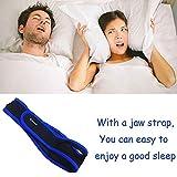 CAMAC Hot Anti Snoring Chin Strap Anti Snore Belt Anti Snoring Jaw Support Anti Apnea,Long