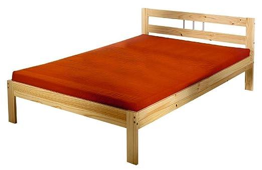 interlink bett jana kiefer massivholz verschiedene grossen lieferbar liegeflache 140 x 200 cm
