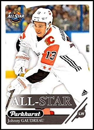 purchase cheap f1869 baf0b Amazon.com: 2018-19 Parkhurst Hockey #328 Johnny Gaudreau ...