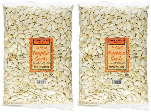 - Trader Joe's in Shell Pumpkin Seeds (Pack of 2)