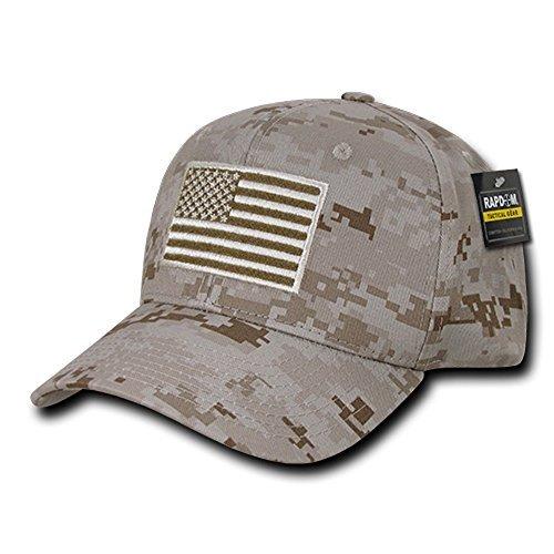 Rapdom Tactical USA Embroidered Operator Cap - Desert Camo