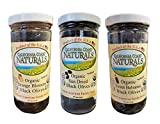 California Coast Naturals Hand Picked USDA Organic Sun Dried Olive 3 Pack, Non-GMO, Gluten Free