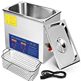 Mophorn Ultrasonic Cleaner 10L Heater Timer Commercial Ultrasonic Cleaner Professional Stainless Steel Industrial Ultrasonic Cleaner(10L)