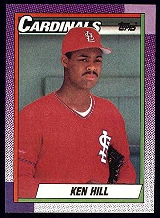 Amazoncom 1990 Topps 233 Ken Hill St Louis Cardinals