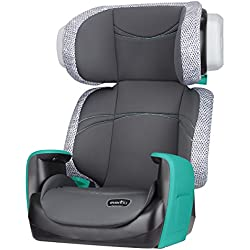 Evenflo Spectrum 2-in-1 Booster Car Seat, Teal Trace