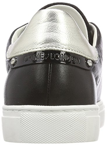 Basses Noir Crime London Femme schwarz Sneakers 25206ks1 Zqz71wgf