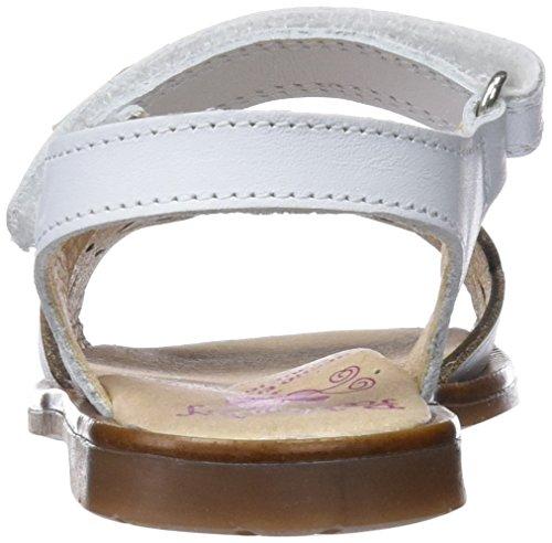 31600 Blanc blanco Bout Ouvert Fille Cassé Pablosky Sandales 031600 dw0xdXA