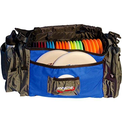 Innova Champion Discs DISCarrier Golf Bag, Navy/Gun Metal