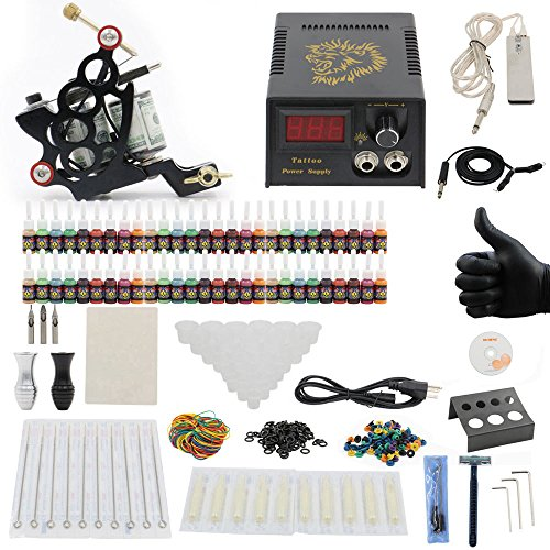 Tattoo Kit 1 Machine Guns - 6