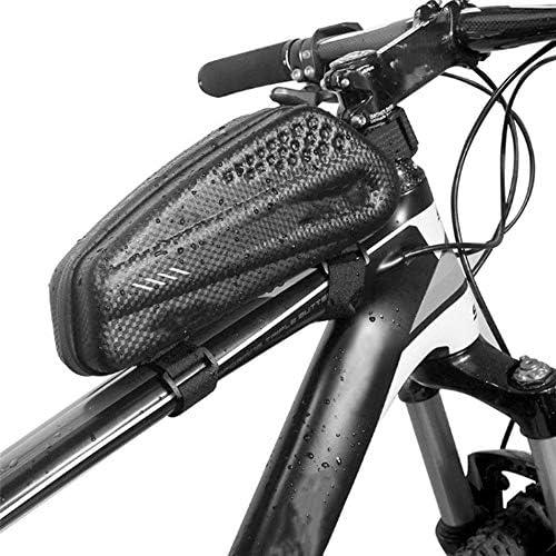 Susulv Bolsa de Cuadro de Bicicleta Gran Capacidad de MTB Marco for Bicicleta Bolsa de Tubo Superior Bolsa Impermeable (Color : Negro, tamaño : Un tamaño): Amazon.es: Hogar