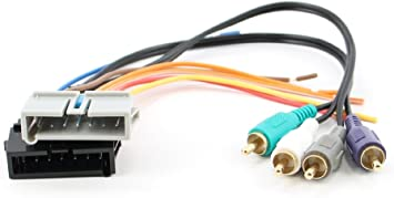 Replacement Radio Wiring Harness for 2006 Toyota Matrix XR Wagon 4-Door 1.8L Car Stereo Connector