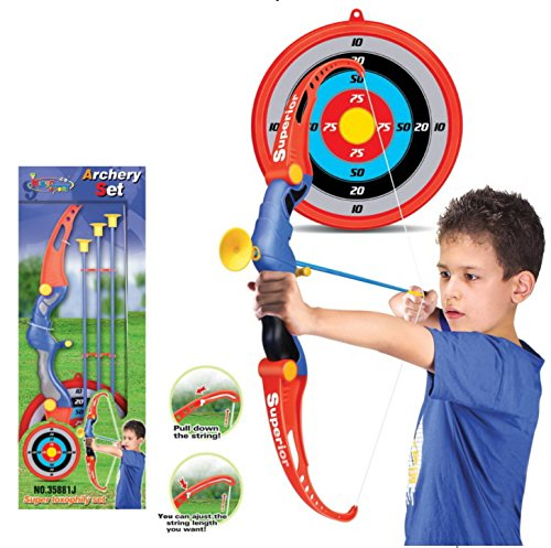 AMPERSAND SHOPS Archery Bow and Arrow Toy Set with Target and -