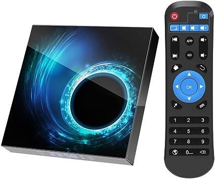 TV Box Android 10.0 Smart TV Box 4GB RAM 32GB chipset H616 1080P Ultra HD 4K 6K HDR WiFi 2.4G 5.8GHz BT 4.1 32GB dotato di android 10.0 sistema operativo Mini tastiera wireless