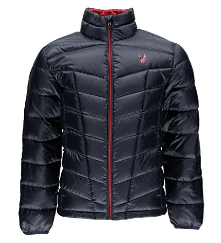 Spyder Pelmo Down Jacket, Ombre Blue, Medium (Spyder Men Ski Jacket)