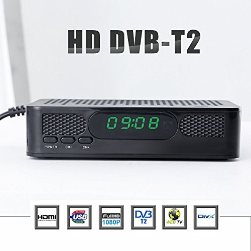 FidgetFidget Broadcast Convertor Receiver HDMI USB AV K3 Digital HD 1080P Mini DVB-T2 TV Box