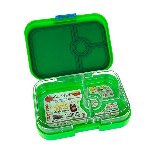 yumbox panino pomme green leakproof bento lunch box container for kids and adults desertcart. Black Bedroom Furniture Sets. Home Design Ideas