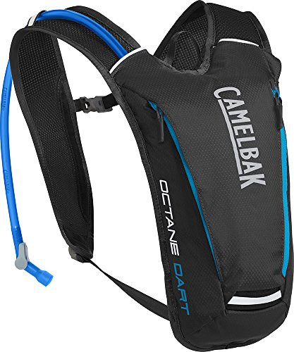 CamelBak Octane Dart Crux Reservoir Hydration Pack, Black/Atomic Blue, 1.5 L/50 oz ()