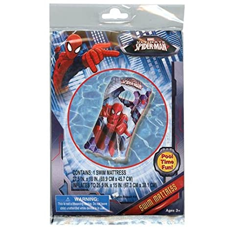 Amazon.com: Marvel Spider-Man inflable nadar paquete de ...