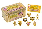 Moshi Monsters Moshlings 1.5 Inch Exclusive Gold 2 Collector Tin TWO