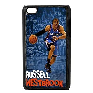 C-EUR Customized Phone Case Of Russell Westbrook For Ipod Touch 4
