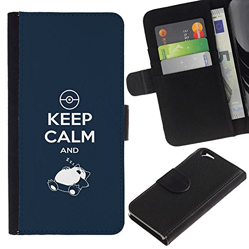 OMEGA Case / Apple Iphone 6 4.7 / KEEP CALM AND LIVE PEACEABLY - ROMANS 12:18 / Cuir PU Portefeuille Coverture Shell Armure Coque Coq Cas Etui Housse Case Cover Wallet Credit Card
