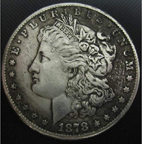MarshLing Old Liberty Morgan Dollars Eagle Coins-(1804-1926) Great American US Coin-USA Uncirculated Commemorative Old Coin-Discover History Coins Perfect Quality ()