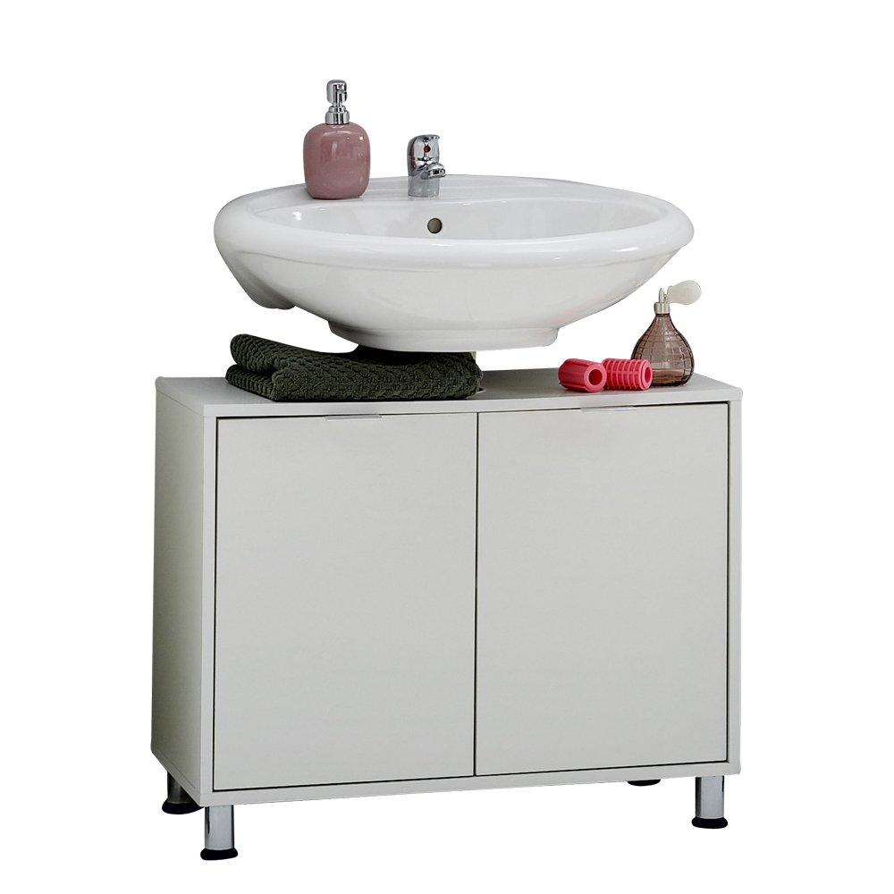 FMD Möbel 925 004 Waschbeckenunterschrank Zamora 4, 70 X 56,5 X 33 Cm,  Weiß: Amazon.de: Küche U0026 Haushalt