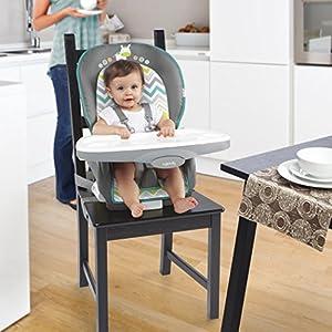 Ingenuity Trio 3-in-1 Ridgedale High Chair, Grey