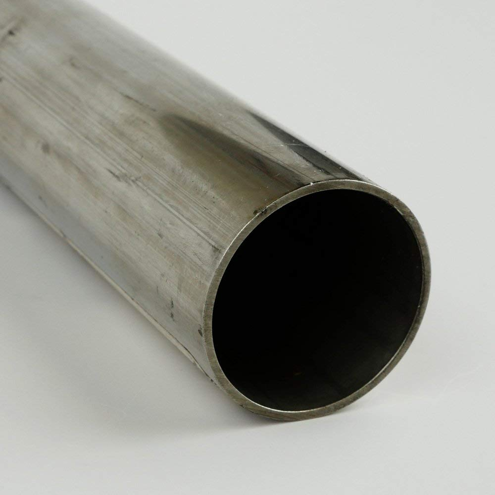 OnlineMetals ASME SA-249 0.049 Wall Thickness 304 Stainless Steel Tube-Round ASTM A249 Mill 0.5 Outside Diameter Finish 0.402 Inside Diameter 36 Length Welded ASTM A269 Unpolished