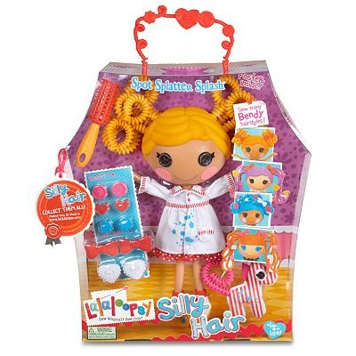 Lalaloopsy Spot Splatter Splash Silly Hair Doll toy gift idea birthday