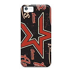 First-class Case Cover For Iphone 5c Dual Protection Cover Houston Astros
