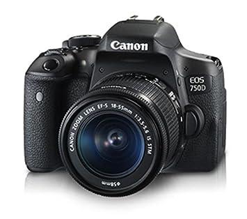 Canon EOS 750D + EF-S18-55mm IS STM + CS100 Juego de cámara SLR 24 ...