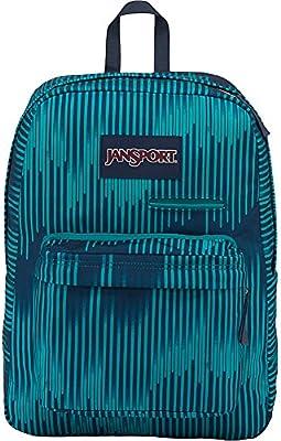JanSport Digibreak Laptop Backpack- Sale Colors (Algiers Blue Running  Stripe) 9d7d24855d8c1