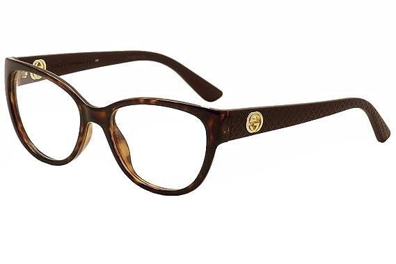 Amazon.com: Optical frame Gucci Acetate Havana - Brown (GG 3789 LWF ...