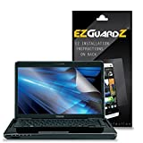 (3-Pack) EZGuardZ Screen Protector for Toshiba Satellite 14' Laptop (Ultra Clear)