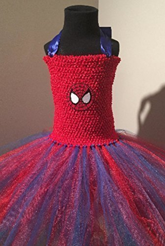 Marvel Spiderman Tutu Dress Up Costume (5y - 7/8)