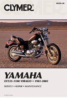 clymer yamaha xv535-1100 virago 1981-2003: service, repair, maintenance (